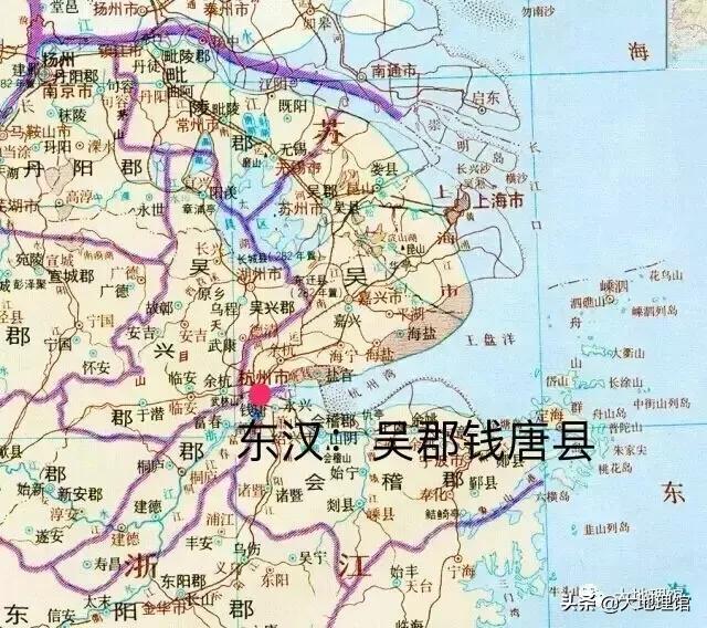 东汉:吴郡的钱唐县