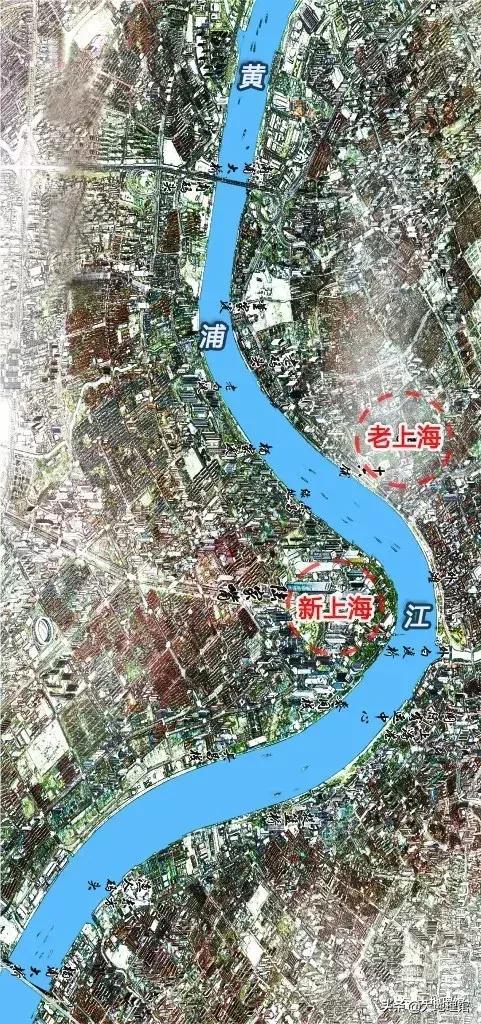 黄浦江两岸图