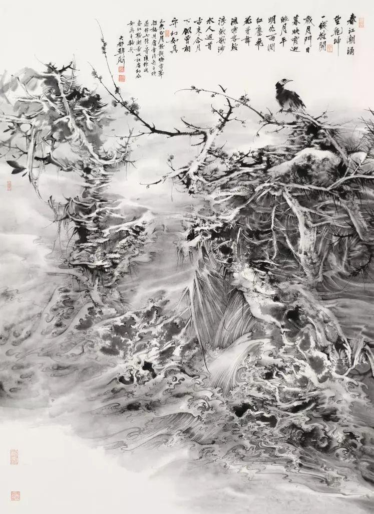 中国美院师生于第十三届全国美展和第十四届浙江图片