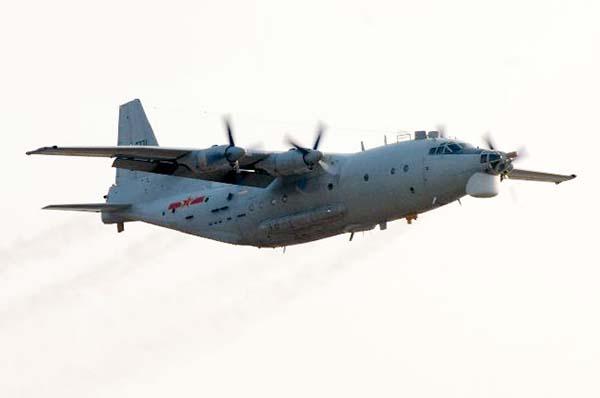 中国空军装备的运8电子侦察机