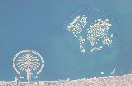 迪拜大楼黑白矢量图