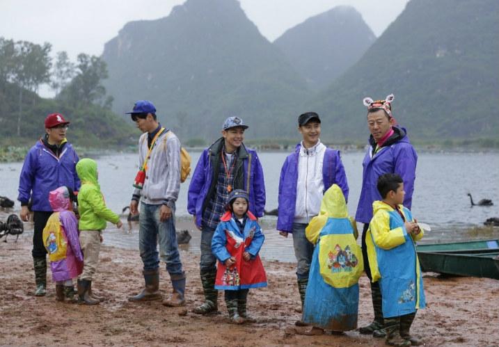 《爸爸去哪儿》第一季的第5,6集在云南图片