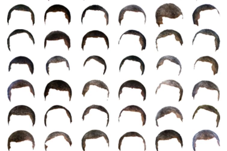 奥巴马:头发越来越像摩根·弗里曼图片