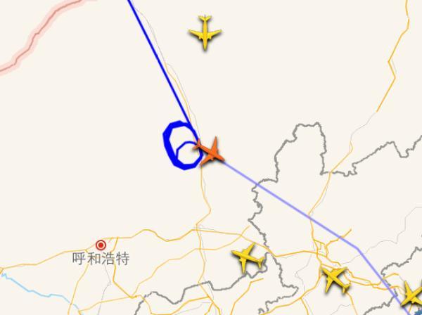飞机盘旋8圈等冷空气吹散雾霾