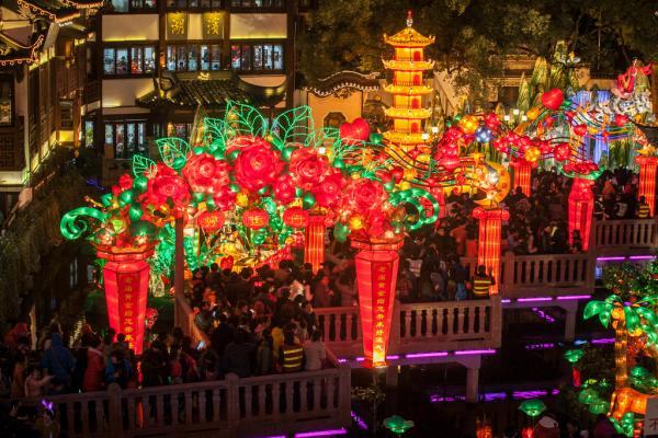 今年的松江方塔园元宵灯会也同时取消