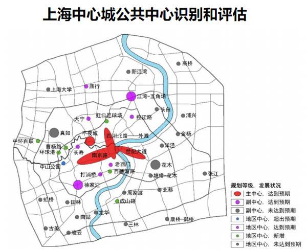 数据看上海城市空间结构