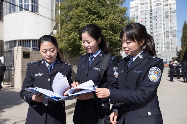女警���9�����:`kz`a���_江苏唯一女警中队\