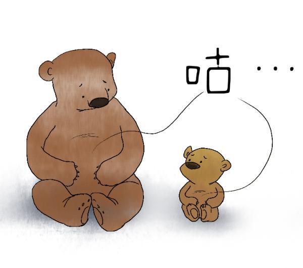 饥饿的卡通图片可爱