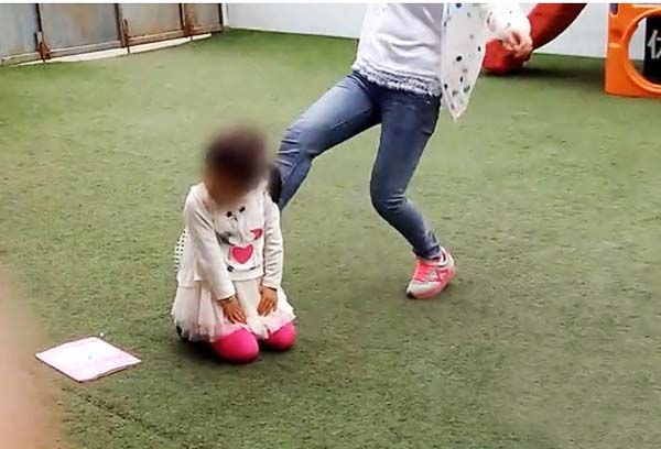山西吕梁幼儿园虐童视频系老师偷拍