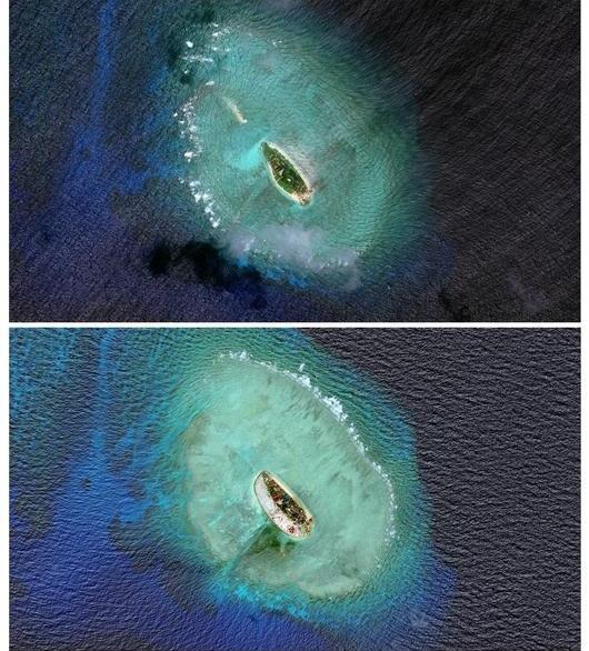 华春莹指出,中方在部分驻守岛礁建设的目的之一是为了更好地履行中方在海上搜寻与救助、航行安全、海洋科研等方面承担的国际责任和义务。比如,1987年2月,在法国巴黎召开的联合国教科文组织第14届政府间海洋委员会年会通过了《全球海平面联测计划》,决定在全球建立200个海洋观测站,并委托中方建立其中的5个,其中就包括南沙群岛。至于规模大小,不言而喻,中国作为大国,承担着相应的国际责任和义务。中方建设活动的规模与大国的责任和义务相称