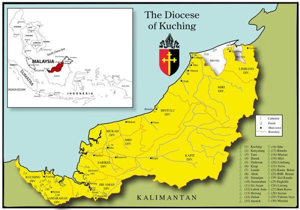 """他还通过""""婆罗洲公司""""来管理沙捞越王国的经济,出口木材,矿石,椰干图片"""
