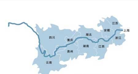长江航道等级划分