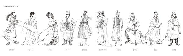 贵族木质簪子图片大全
