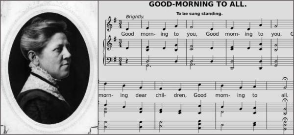 生日快乐歌最早出现在1922年的一本名为《每日歌曲》