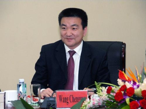会议宣布了王成国同志任平谷区委书记的任职决定.