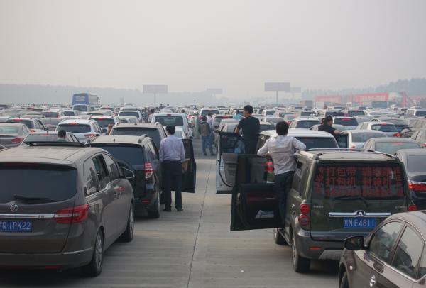 北京城区内的西站北广场