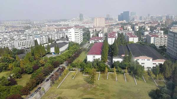 上海财经大学校园 因为笔者曾经担任加州大学洛杉矶