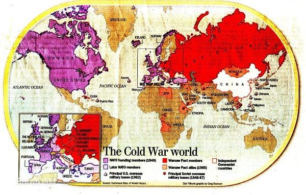 1946年3月5日,英国前首相丘吉尔在美国发表了著名的
