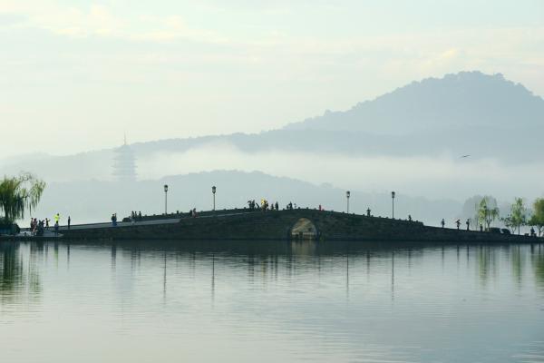 杭州西湖桥风景区