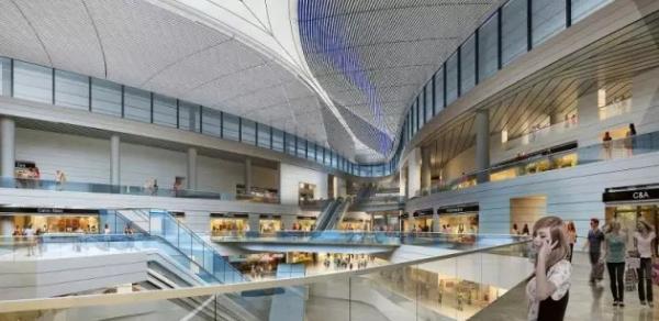全球最大机场卫星厅在上海浦东开建