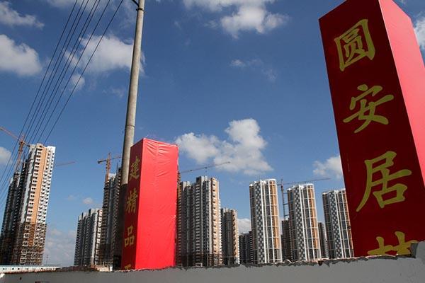 2013年8月20日,江苏省南通市一保障房.