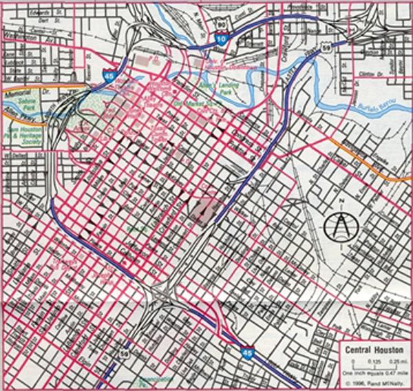 城市街区地图手绘