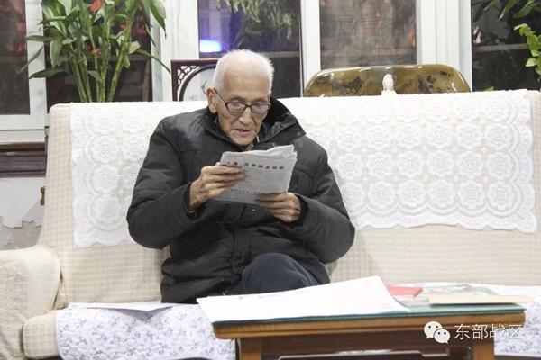 百岁老将军张玉华 如果你们不紧跟党走,就不配做我的后代