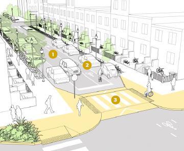 (美国街道手册绘图城市)室内设计设计员试用期工作总结图片
