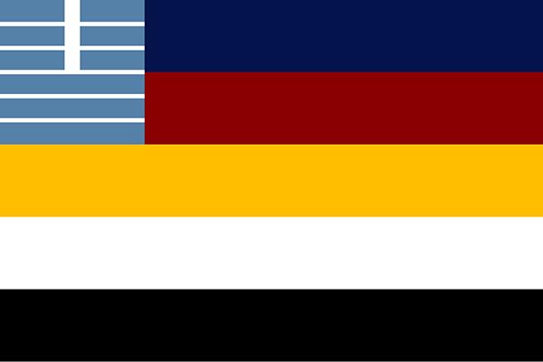1875年北洋水师筹建开始,相关的旗帜和章服制度即开始拟定。1882年由丁汝昌审定,中国第一本参考西方海军相关制度制定的章服图说问世,即《北洋水师号衣图说》,其中详细规定了北洋水师军官、士兵的服装和徽记样式。1888年北洋水师正式建军,此后根据1882版军服、旗帜在实际使用中积累的经验,于1888-1890年间制定了更为西式的军服图说,北洋水师在甲午战争中即使用的是这套旗帜、章服图式。本处资料来源自美国哈佛燕京图书馆藏《北