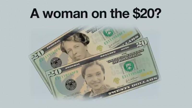 20美元纸币换头像:为何选她印在钞票上