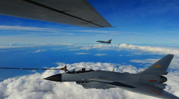 飞机进入中国东海防空区活动