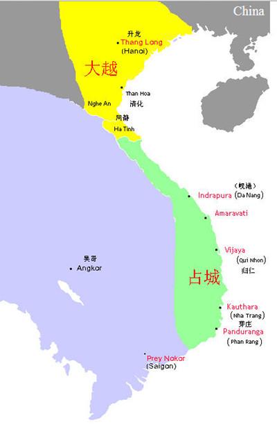 今属越南的古国占城是怎样消失的...