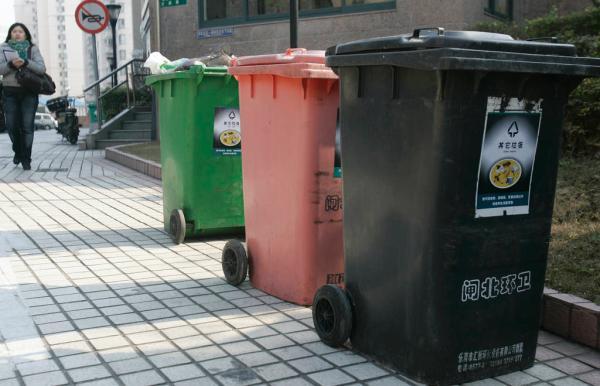 上海市生活垃圾