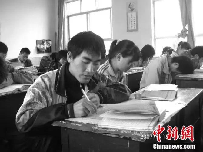 刘秀祥备战高考受访者供图