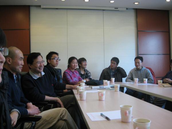 饶毅教授与生命科学学院挑战班同学座谈