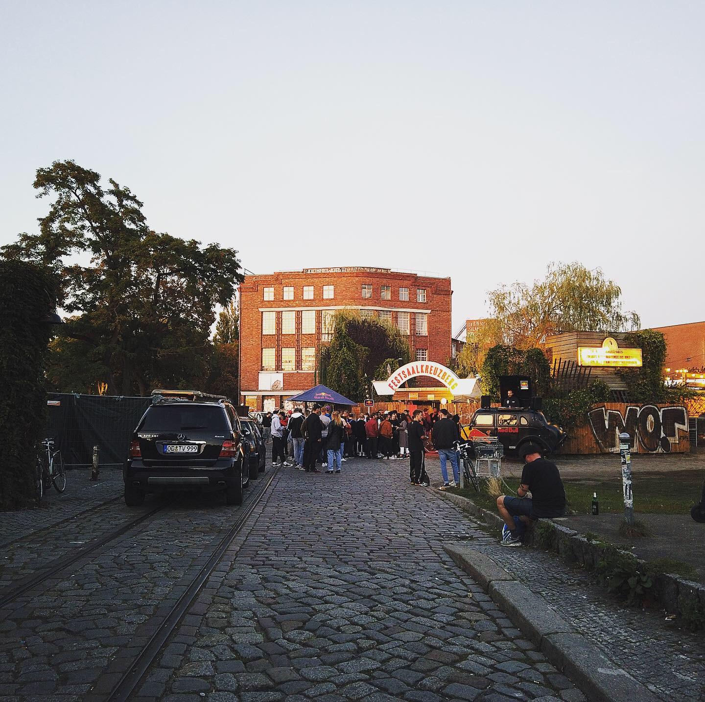 成为潮人聚集之地的艺术家园区 作者图