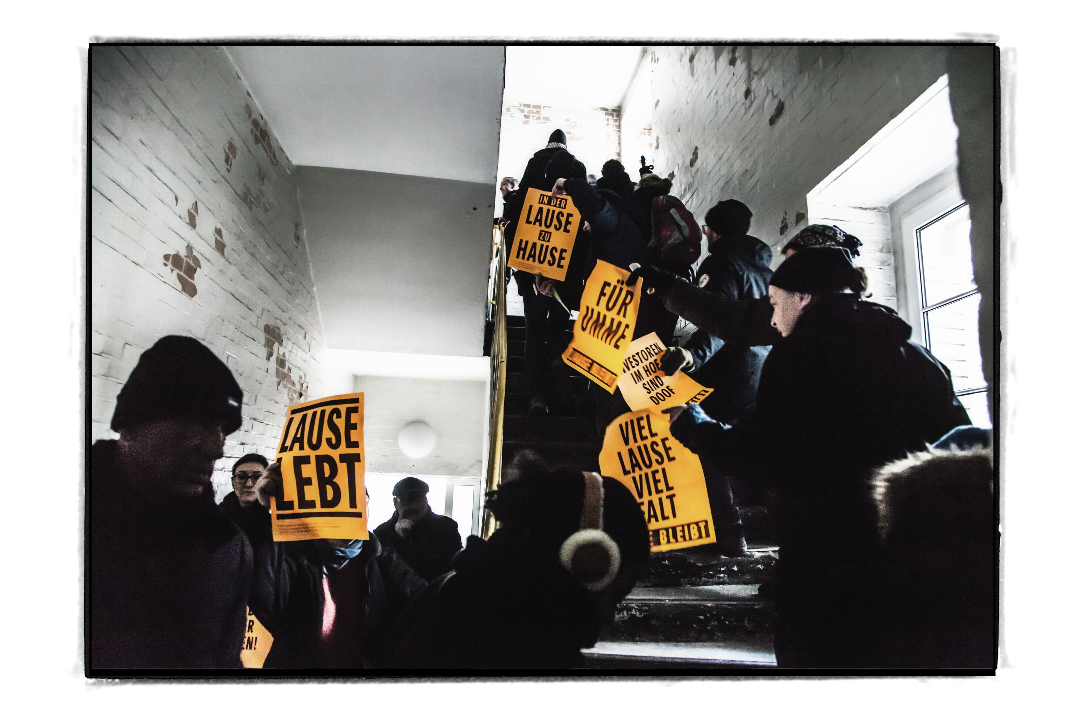 抗议士绅化的艺术家们 Lause图