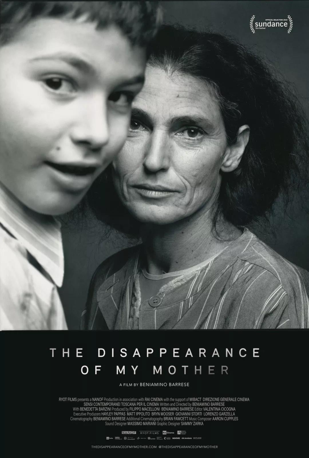 《我母亲的消失》 THE DISAPPEARANCE OF MY MOTHER 导演:Beniamino Barrese 制片国家/地区:意大利 / 美国 片长:95分钟 制片商:Nanof Productions