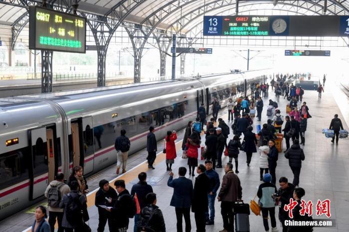 铁路春运售票第14日多项售票指标创历史新高