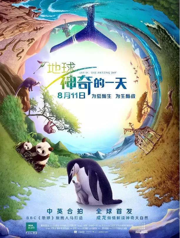 《地球:神奇的一天》海报