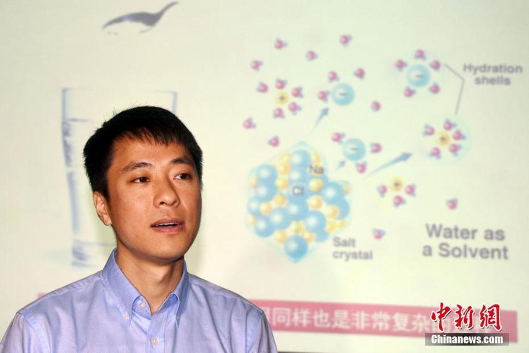 北京年夜学物理学院量子原料科学地方教授江颖。 中新网 图