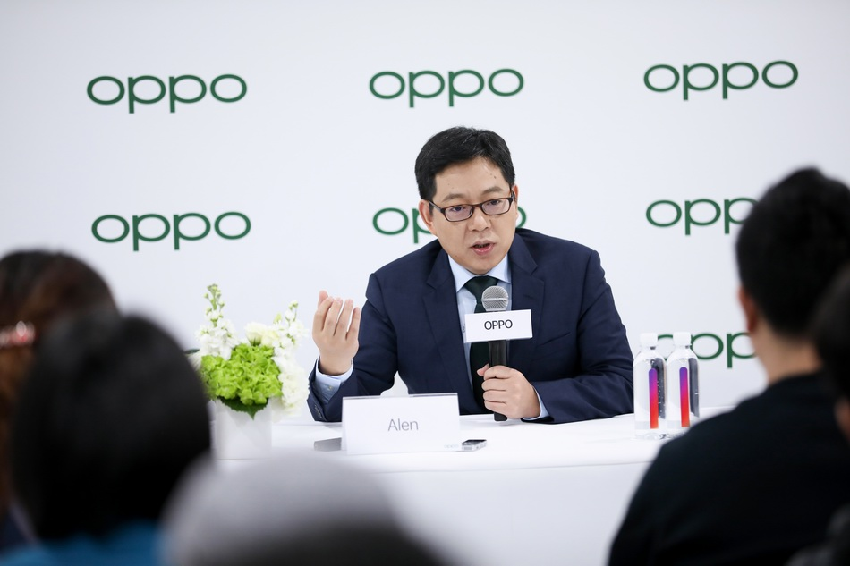 OPPO副总裁、全球销售总裁吴强。