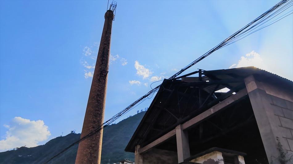 废旧无声的老盐厂 古镇昔日的荣光。