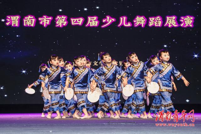 渭南市第四届少儿舞蹈展演网络直播在线人数达144.54万