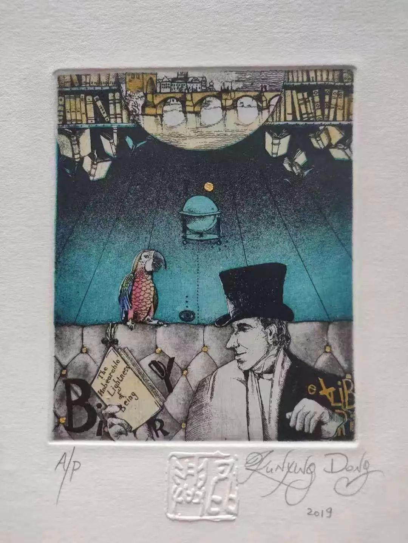 上海思南书局诗歌店:铜版画藏书票的艺术奇想