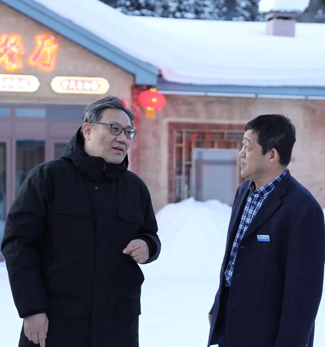 新年第一天,黑龙江省长王文涛再度暗访雪乡:要爱护雪乡声誉