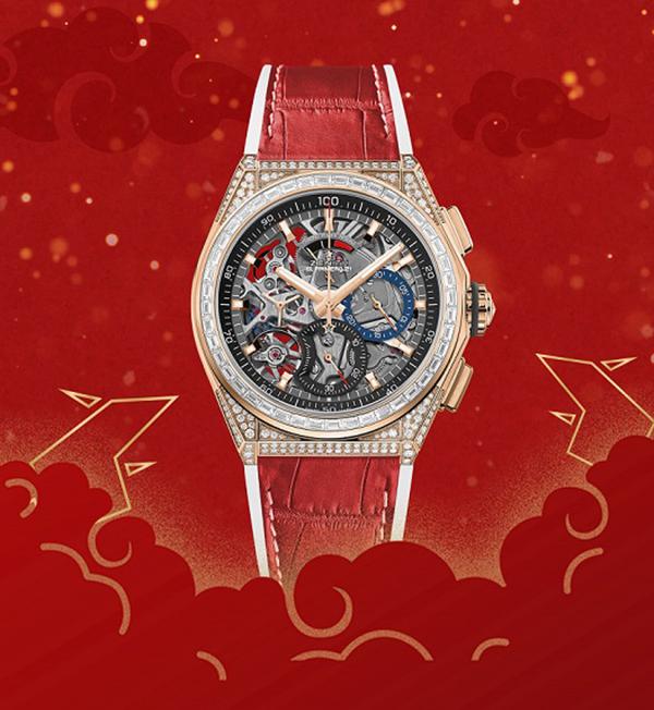 """""""红""""运当头 这几款红色腕表喜迎新年!"""