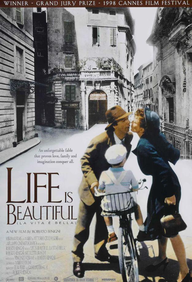 《美丽人生》重映,有句台词却被改了 比赛台词
