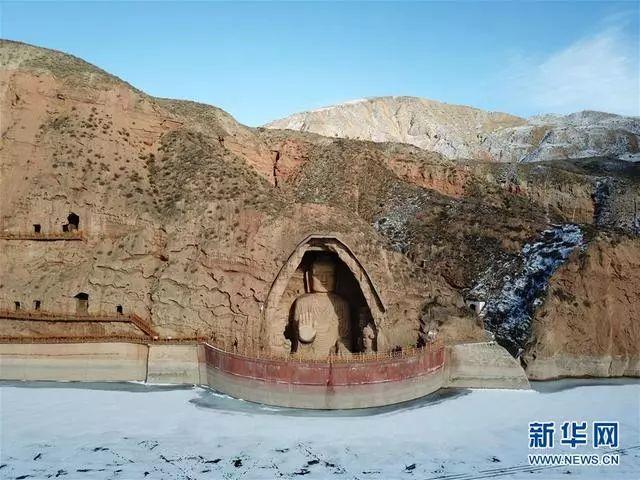 【新华网】 冬日天梯山