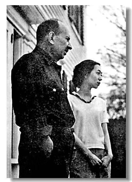 张爱玲和美国丈夫赖雅